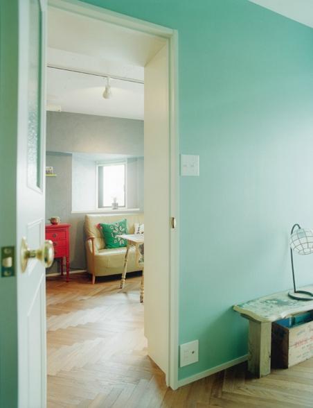 リノベーション / latticeの部屋 寝室からリビング