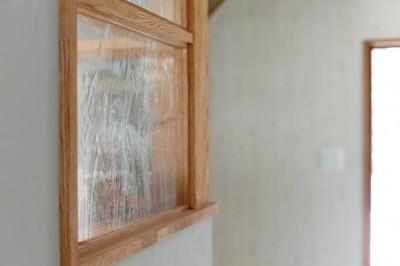 明かり窓 (大阪府Kさん邸:水回りを移動し、スキップフロアの広々LDKに)