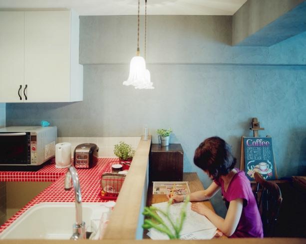 リノベーション / latticeの部屋 キッチンとカウンタースペース