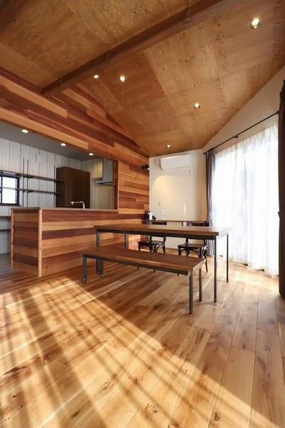 ダイニング・キッチン (K様邸~フルオーダー新築住宅~)