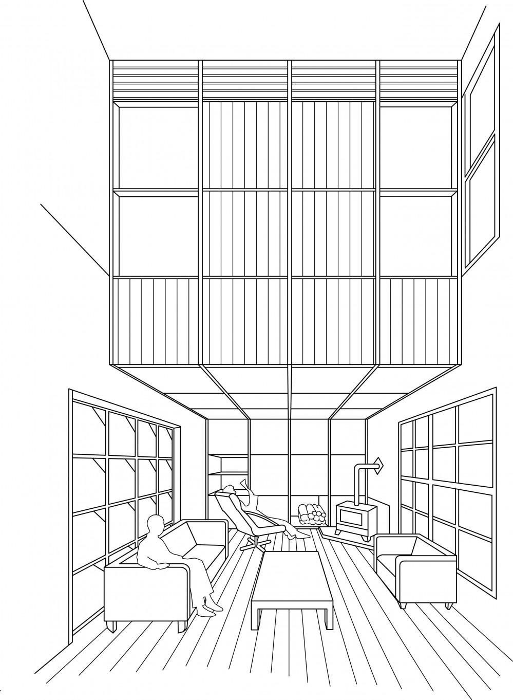 別荘感覚で創ろう Fireplace relaxation Chiba (別荘感覚で創ろう Fireplace relaxation Chiba 収納と薪ストーブ)