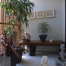 別荘を創ろう|別荘感覚で創ろう|Open air terrace|Shnyurigaoka (別荘感覚で創ろう|Open air terrace|Shnyurigaoka|ギャラリーバルコニー)