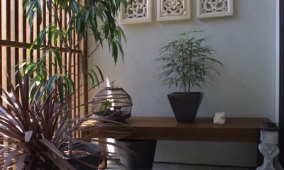 別荘感覚で創ろう|Open air terrace|Shnyurigaoka (別荘感覚で創ろう|Open air terrace|Shnyurigaoka|ギャラリーバルコニー)