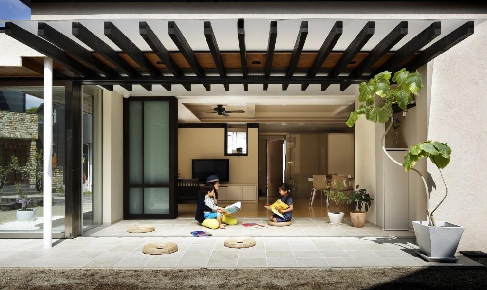 長谷川建築デザインオフィス|Hasegawa Design JP「別荘感覚で創ろう|DOMA Livingroom|Kumamoto」