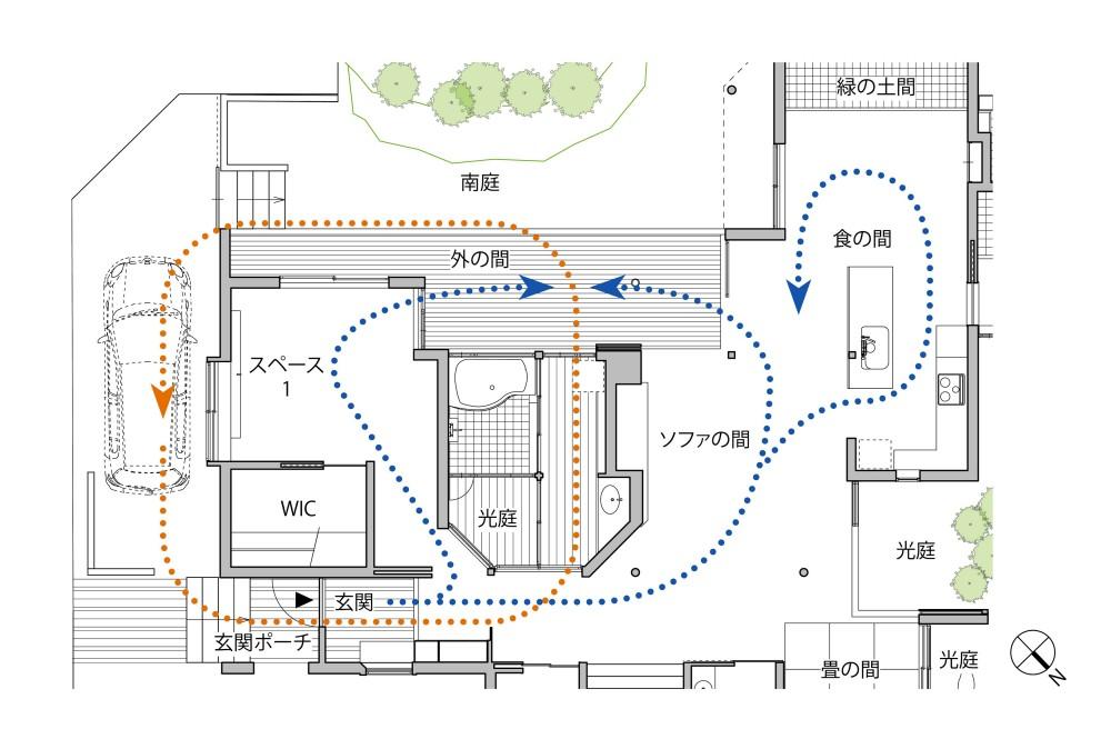 別荘感覚で創ろう|Zushi・Gentle space under the roof (別荘感覚で創ろう|Zushi・Gentle space under the roof|プラン)