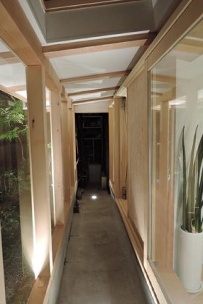 多目的室 (夫婦と子供たち家族で楽しめるスペースの増築)