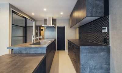 Cool Modern (キッチン)