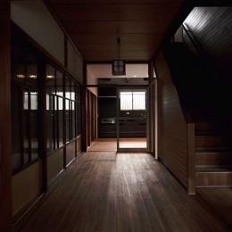 小さな古民家リノベーション (02 廊下)