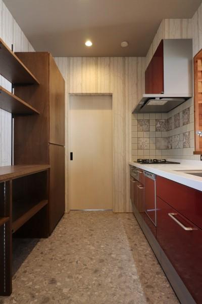 キッチン (K様邸~フルオーダー新築住宅~)