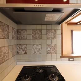 K様邸~フルオーダー新築住宅~ (キッチン~モザイクタイル~)