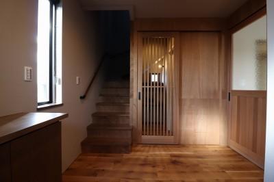 玄関ホール (K様邸~フルオーダー新築住宅~)