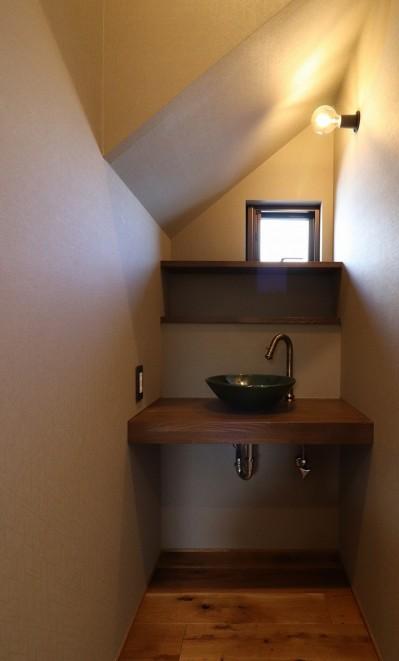 手洗室 (K様邸~フルオーダー新築住宅~)