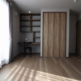 K様邸~フルオーダー新築住宅~ (主寝室)