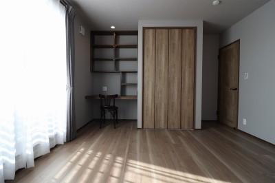主寝室 (K様邸~フルオーダー新築住宅~)