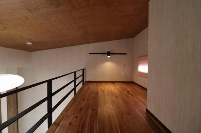 子供部屋~ロフト~ (K様邸~フルオーダー新築住宅~)