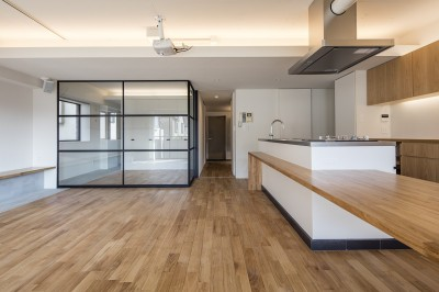 新築派がつくるリノベーション|新築主義の奥様のためにつくる上質な住まい (LDK2)