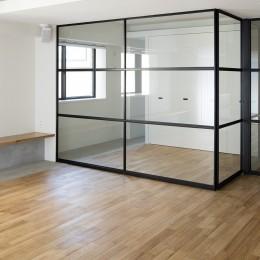 新築派がつくるリノベーション|新築主義の奥様のためにつくる上質な住まい (洋室1)