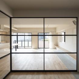 新築派がつくるリノベーション|新築主義の奥様のためにつくる上質な住まい (洋室〜LDK)