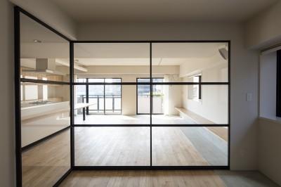 洋室〜LDK (新築派がつくるリノベーション|新築主義の奥様のためにつくる上質な住まい)