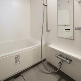 新築派がつくるリノベーション|新築主義の奥様のためにつくる上質な住まい (浴室)