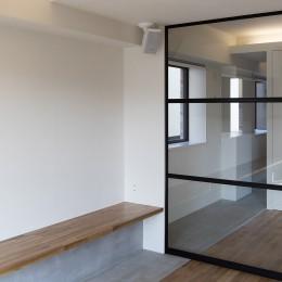 新築派がつくるリノベーション|新築主義の奥様のためにつくる上質な住まい (LDK〜洋室)