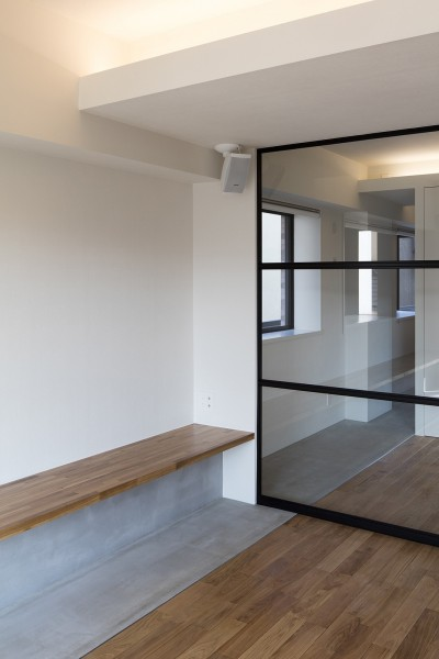 新築派がつくるリノベーション 新築主義の奥様のためにつくる上質な住まい (LDK〜洋室)