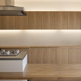キッチン (新築派がつくるリノベーション|新築主義の奥様のためにつくる上質な住まい)
