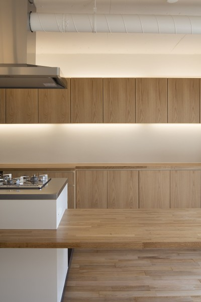 新築派がつくるリノベーション|新築主義の奥様のためにつくる上質な住まい (キッチン)