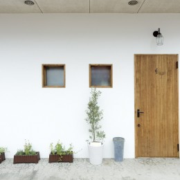 大阪府Tさん邸:子どもの顔が見える安心な間取り空間 (玄関)
