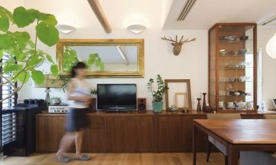 スタイルイズスティルリビング ショールーム〜外国人向け住宅のリノベーション〜 (リビング)