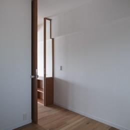 富ヶ谷の家 (寝室)