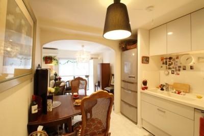 キッチン (北欧テイストのホワイトベースのナチュラル×シンプル)