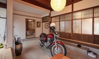 「和×バイク×猫」の古民家リノベーション (「和×バイク×猫」の古民家リノベーション)