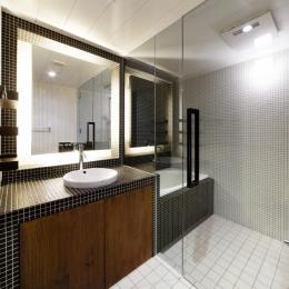 Nzuri  昭和初期の面影を残す京町家を全面的にリノベーション (洗面室2)