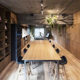 料理教室スタジオであり、職場であり住居。|おもてなしユニットが作るSOHO