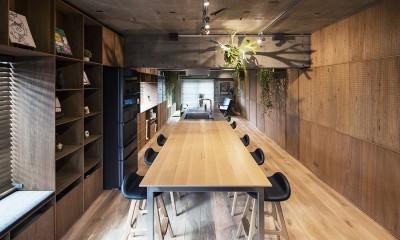 料理教室スタジオであり、職場であり住居。|おもてなしユニットが作るSOHO (LDK 2)
