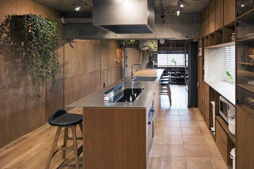 料理教室スタジオであり、職場であり住居。|おもてなしユニットが作るSOHO (キッチン)