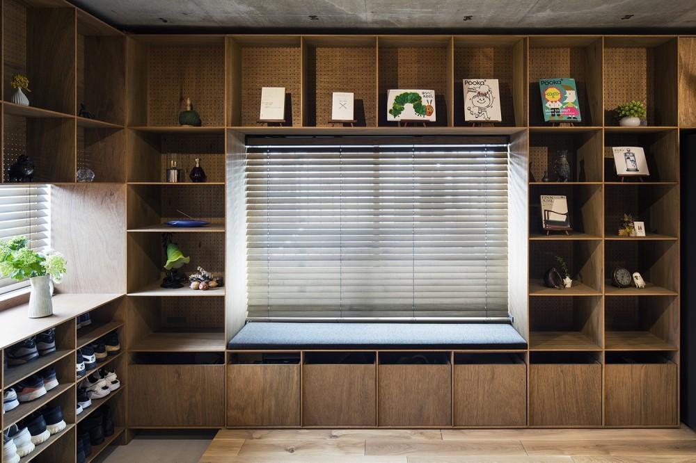 料理教室スタジオであり、職場であり住居。|おもてなしユニットが作るSOHO (玄関スペース)