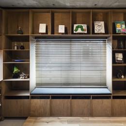 料理教室スタジオであり、職場であり住居。 おもてなしユニットが作るSOHO (玄関スペース)