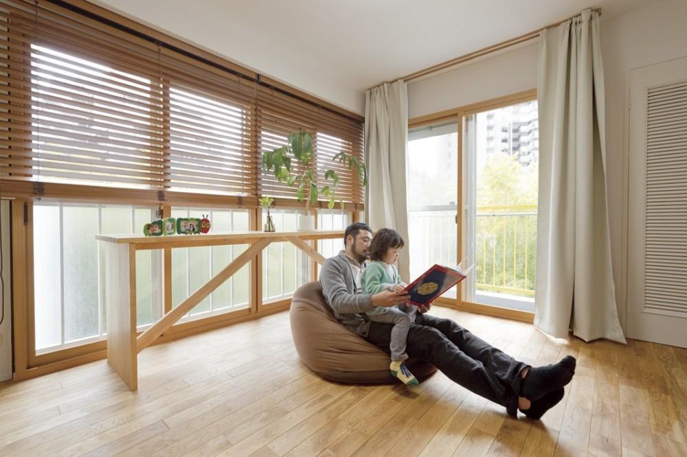 大阪府Oさん邸:自然素材と二重窓で結露を解消。たっぷり収納ですっきり片付くシンプルおしゃれな家に (自然素材が心地よい空間)