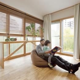 大阪府Oさん邸:自然素材と二重窓で結露を解消。たっぷり収納ですっきり片付くシンプルおしゃれな家に