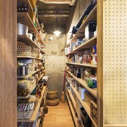 料理教室スタジオであり、職場であり住居。|おもてなしユニットが作るSOHO (納戸)