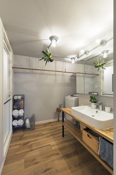 洗面脱衣室 (料理教室スタジオであり、職場であり住居。|おもてなしユニットが作るSOHO)