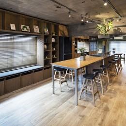 LDK 3 (料理教室スタジオであり、職場であり住居。|おもてなしユニットが作るSOHO)