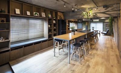 料理教室スタジオであり、職場であり住居。|おもてなしユニットが作るSOHO (LDK 3)