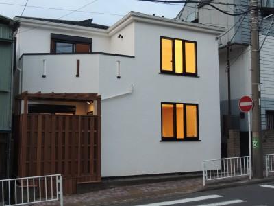 外観 (神奈川県 戸建ての無添加住宅リノベーション)
