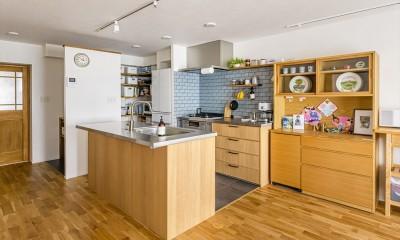 キッチン|Y様邸_こだわりの性能UPと自然素材