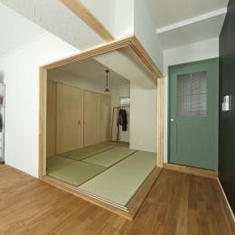 大阪府Kさん邸:防音室を備え、子どもの成長に伴って変化できる間取りに