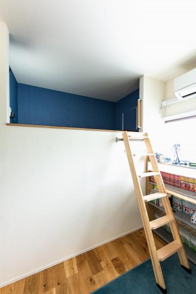 子供部屋 (お子様の成長と木の温もりを感じる)