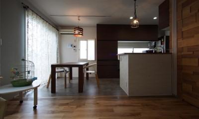 K様邸~戸建てリノベーション~ (ダイニングキッチン)